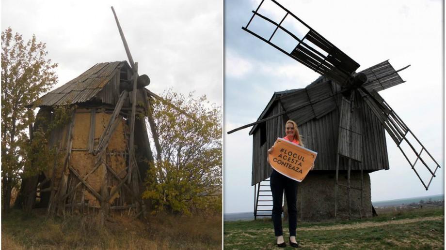 (foto) Cele 4 mori de vânt vechi care au mai rămas pe teritoriul Republicii Moldova