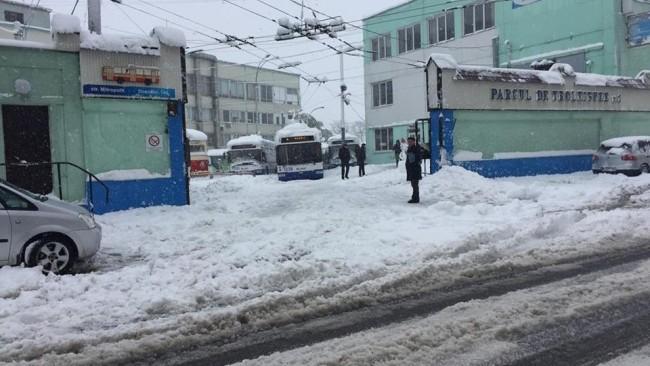 RTEC: Rutele de troleibuz din Capitală nu vor circula  până când nu se va remedia problema liniilor de electricitate
