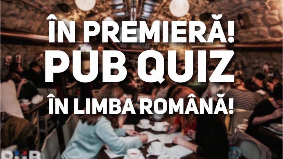 Un nou Pub Quiz în limba română apare la Chișinău. Detalii despre joc