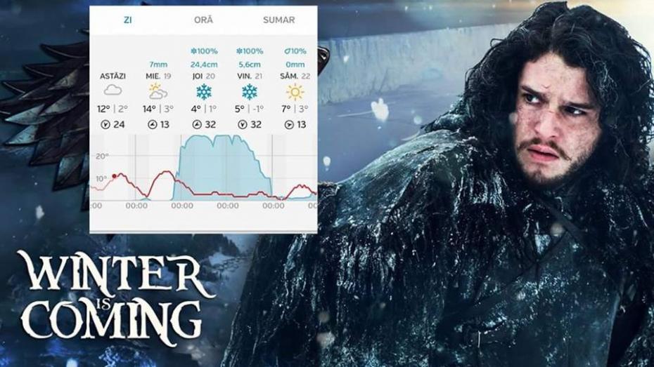 (foto) Cele mai sarstarktice meme-uri cu zăpada din 20 aprilie 2017