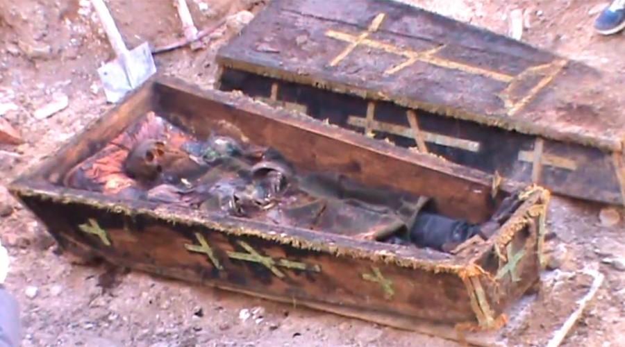 (video) Rămășițele unui soldat rus din secolul XIX au fost dezgropate în Turcia