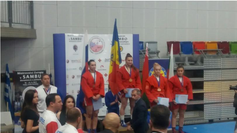(foto) Aur pentru Moldova la Campionatul European de Sambo, rezervat juniori/tineret