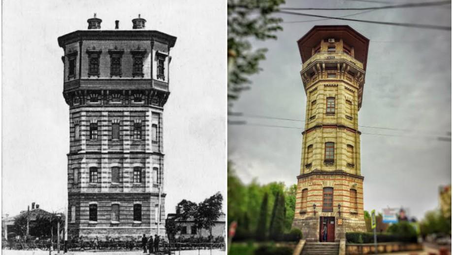 (foto) Descoperiri urbane: Cele două turnuri de apă gemene ale Chișinăului