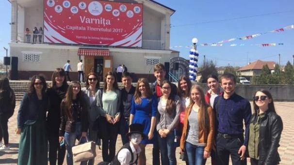 """La Varnița s-a dat startul activităților organizate în cadrul proiectului """"Capitala tineretului 2017"""""""