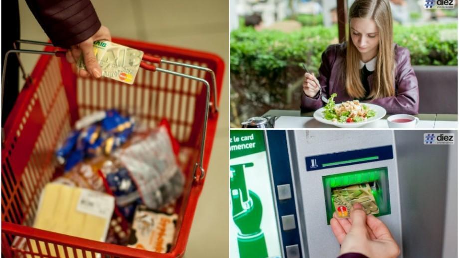 (foto) Experiment: Cum să achiți cu cardul în localurile din Chișinău și să îți întorci o parte din bani