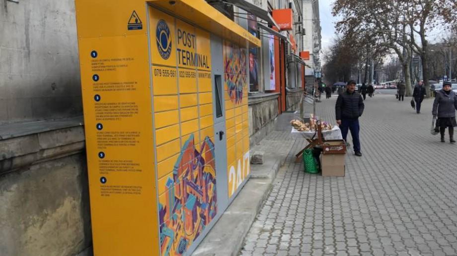 Poșta Moldovei lansează încă șapte Post Terminale în Chișinău
