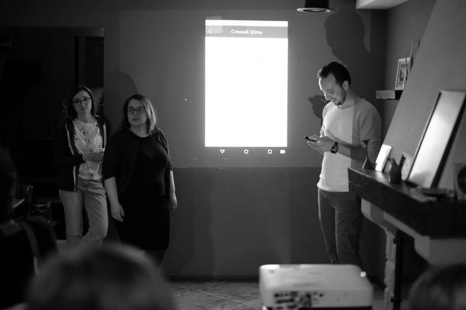 (video) Un grup de tineri din Moldova au lansat o aplicație cu ajutorul căreia oricine poate crea știri