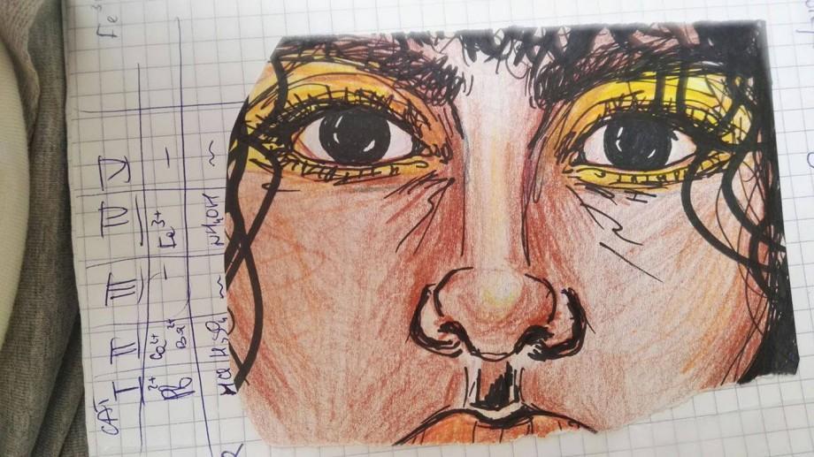 (foto) Talentele ascunse ale liceenilor din Chișinău. Ce desenează elevii pe ultimele pagini ale caietelor