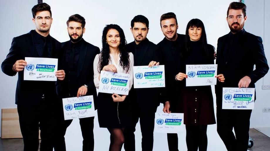 """(foto) Mai multe persoane publice s-au alăturat campaniei """"#ReducețiViteza – Fiecare viață contează"""""""