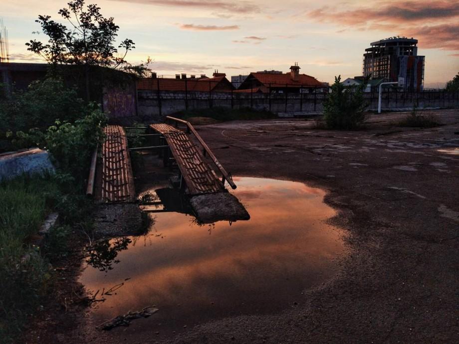 (foto) Un cer cât o mie de metafore! În ce culori a pictat ploaia apusul de astăzi