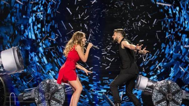 (video) Final cu sărut! Evoluția reprezentanților României în finala Eurovision 2017