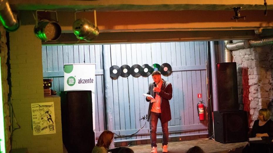 (foto, video) A treia ediție Poetry Slam: Cei mai curajoși tineri poeți au venit în fața microfonului