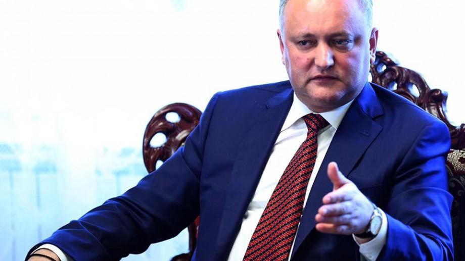 (doc) Igor Dodon a semnat decretele de demisie a miniștrilor liberali