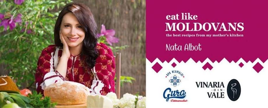 """Bucatele tradiționale moldovenești, cunoscute în întreaga lume. Nata Albot a fost premiată la """"Gourmand World Cook Book Award"""""""