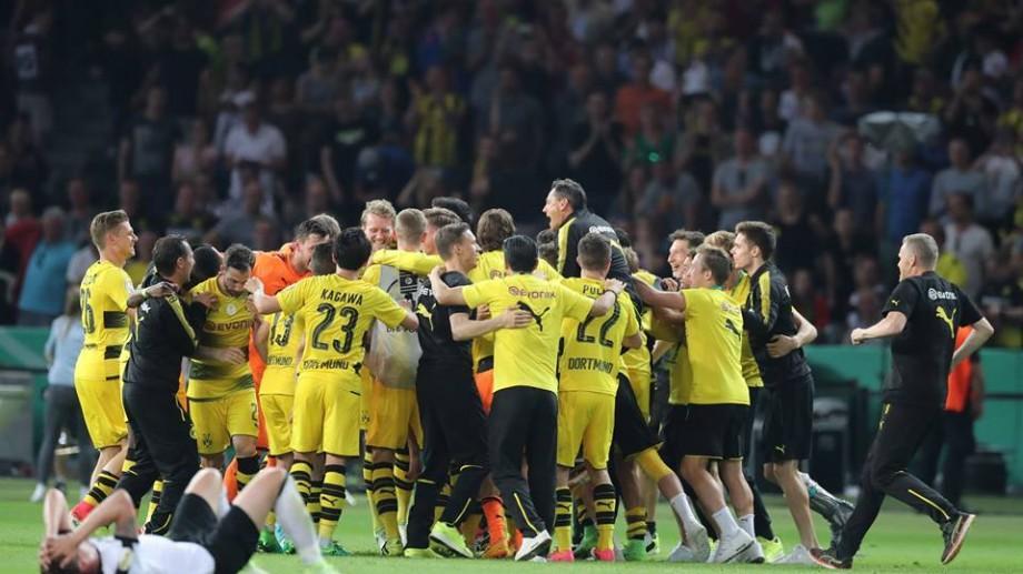 (video) Borussia Dortmund câștigă cupa Germaniei 2017