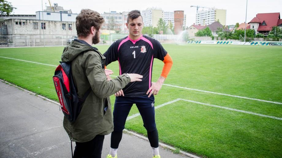 Radu Mîțu, despre antrenamente de mai multe ori pe zi și munca de a deveni cel mai bun portar din Moldova