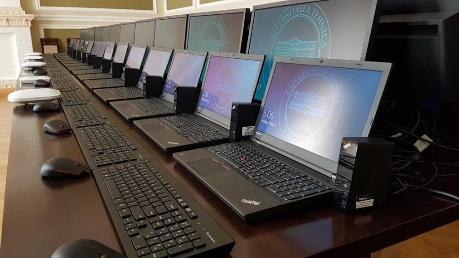 (foto) Studenții Universității Tehnice vor beneficia de echipamente noi în valoarea de 1 milion de lei