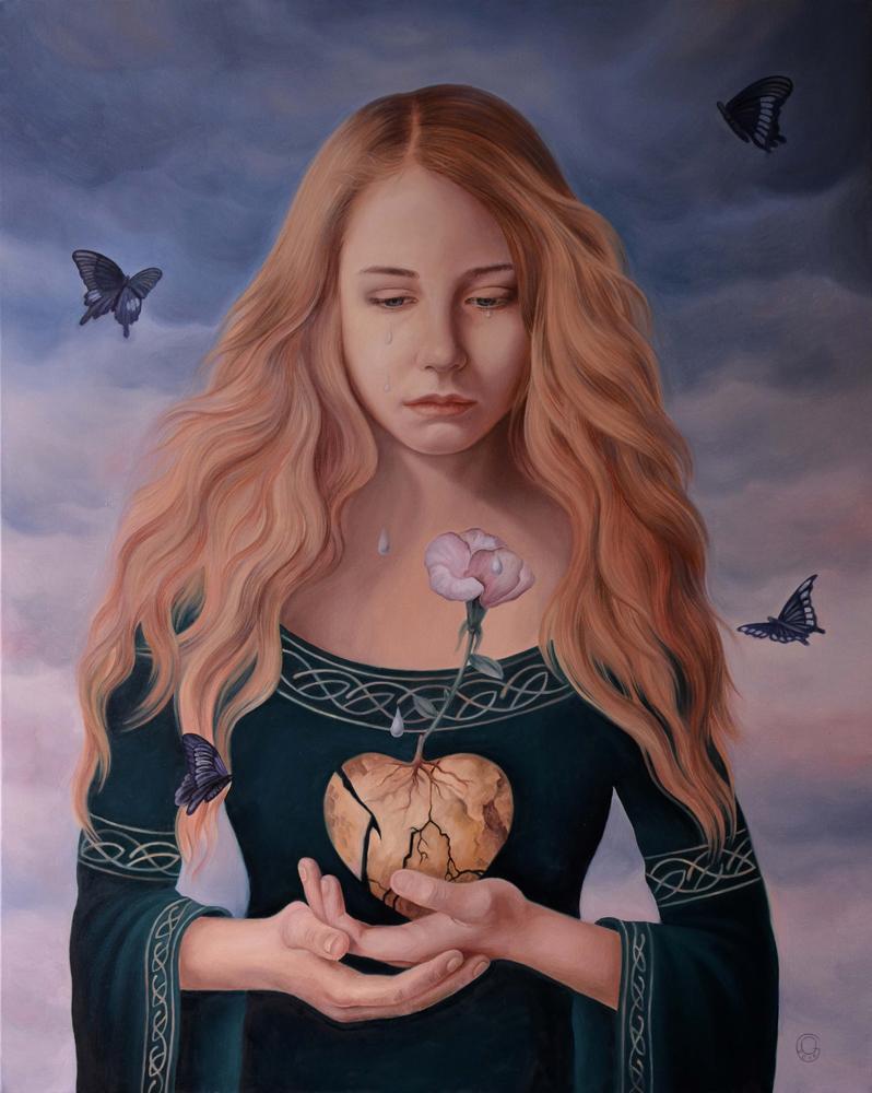 The Reborn/Oil on canvas/100 x 80cm/£2200