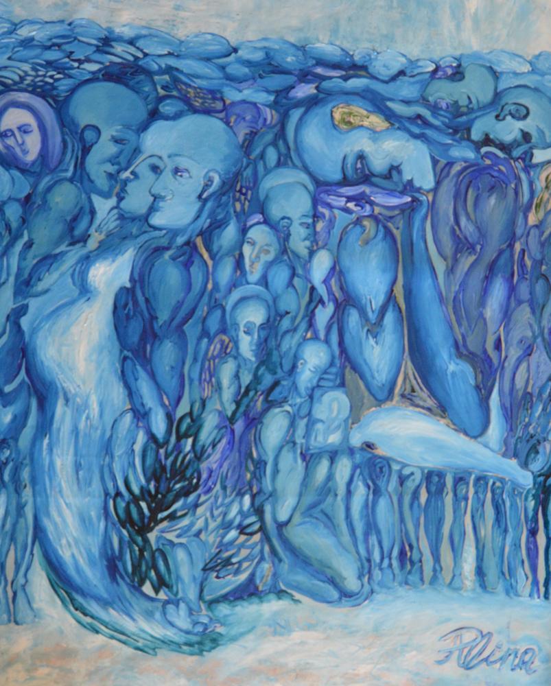 Plenitude/Oil on canvas/100 x 80cm/£3980