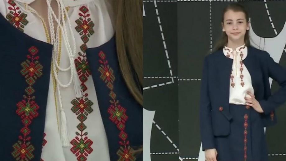 (video) Un designer autohton adaugă culoare și tradiție uniformelor școlare