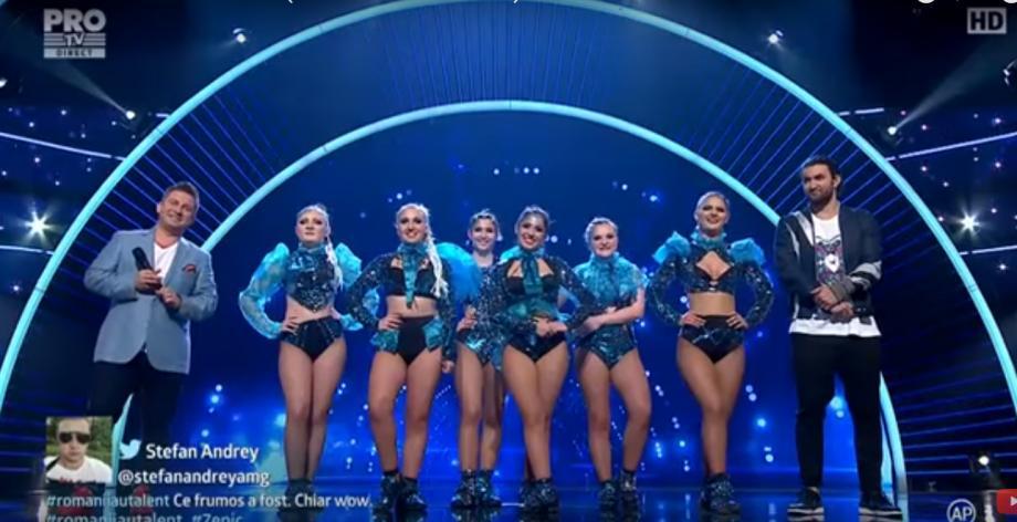 (video) Fetele de la Free Dance s-au transformat în meduze. Cum au evoluat în semifinala Românii au Talent
