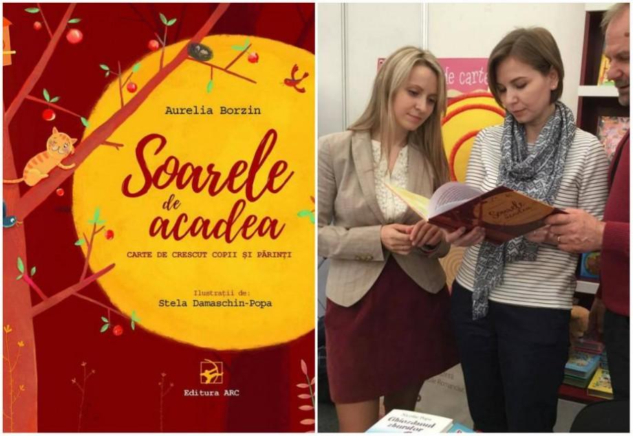(foto) Soarele de acadea sau călătoria Aureliei Borzin în lumea literaturii pentru copii