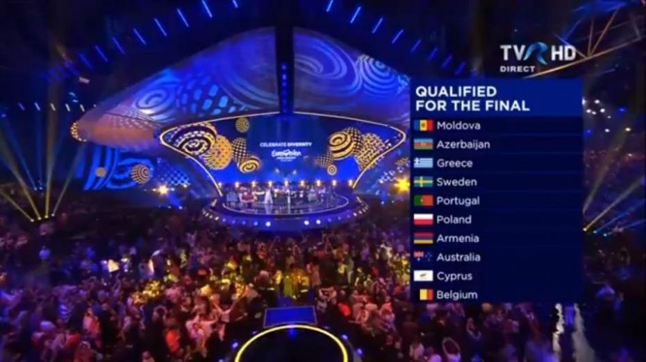 În prima semifinală Eurovision 2017, Moldova s-a clasat pe locul doi. Ce punctaj a acumulat atunci