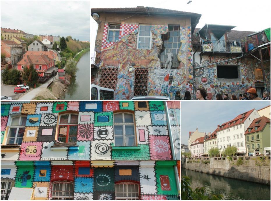 (foto) Creativitatea în orașele slovene (I): Cum pot fi transformate vechile cazarme militare în huburi creative