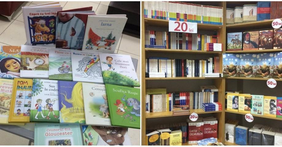 Editura Cartier anunță reduceri de 30 la sută în cadrul Salonului de carte pentru copii și tineret