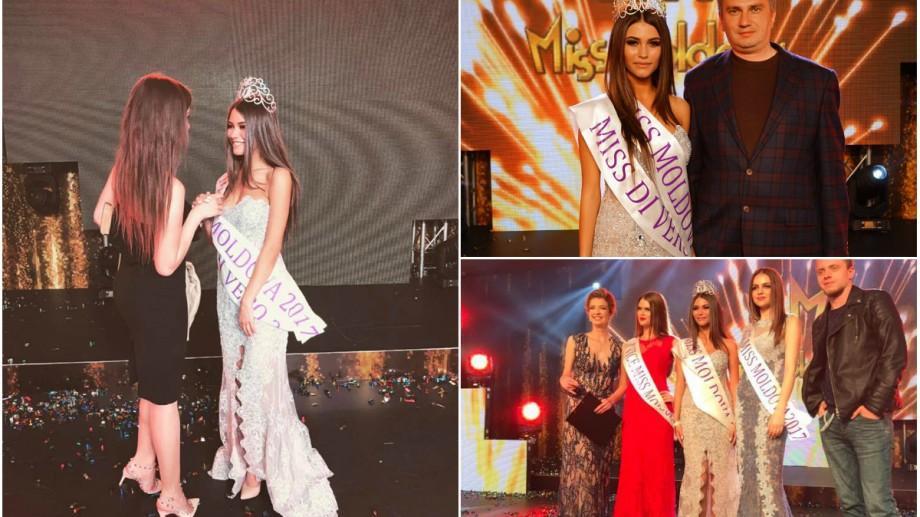 (foto, video) O studentă de la ASEM a cucerit titlul de Miss Moldova 2017