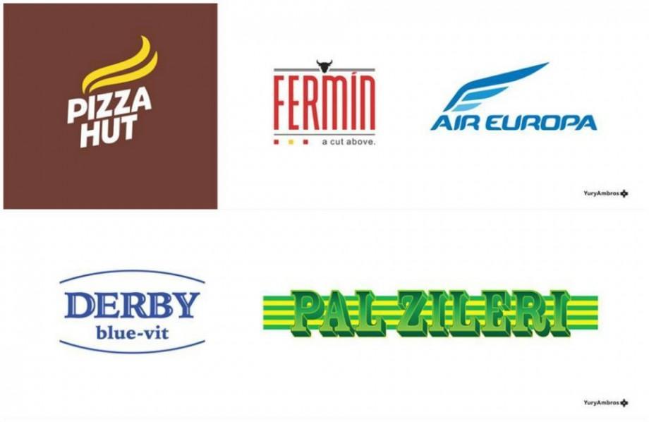 (foto) Cum ar arăta logourile unor branduri internaționale dacă ar fi inspirate din cele autohtone