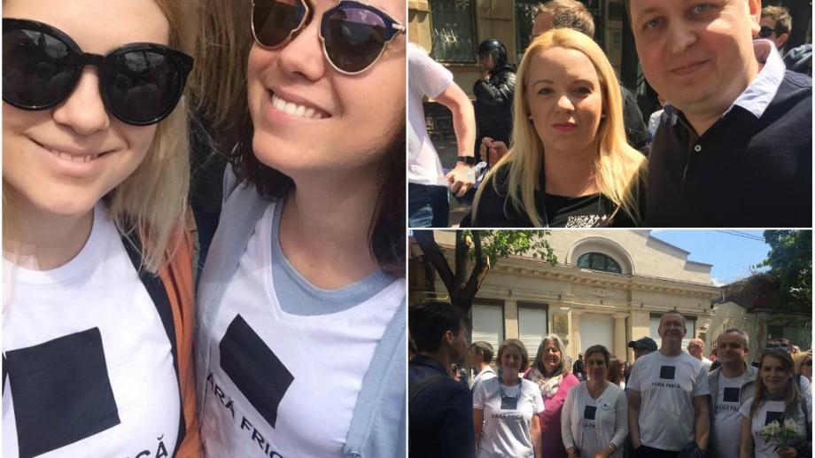 (foto, video) O zi fără frică în Chișinău. Cum s-a văzut Marșul de solidaritate pe rețelele de socializare
