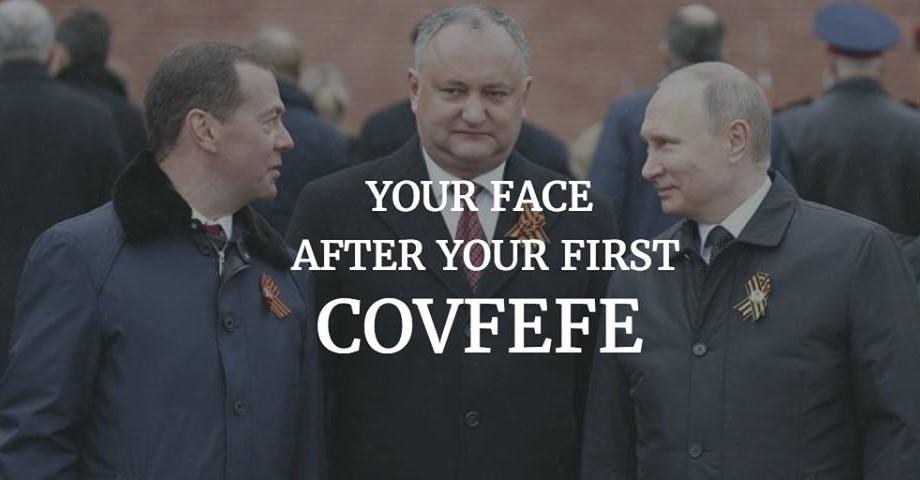 """(foto) Ce înseamnă cuvântul """"Covfefe"""" și cum acesta poate fi explicat prin retorica politicii din Moldova"""
