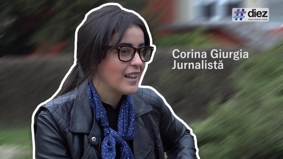 (video) Unde-s tinerii. Corina Giurgia, despre jurnalism, comunicare și seri de film românesc la Iași