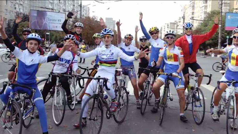 (video) Vino cu întreaga familie la cursa de ciclism Chișinău Criterium. Află care este traseul din acest an