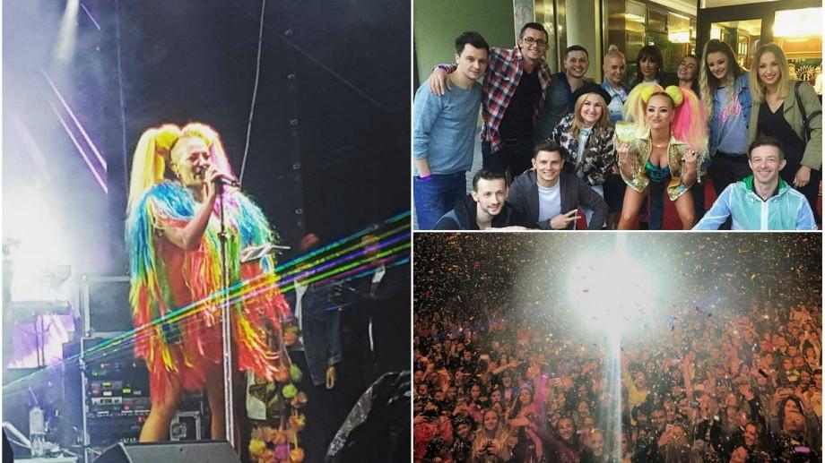 (foto, video) Delia la Rugo Carneval! Sute de fani de la Chișinău au cântat la unison cele mai cunoscute piese ale artistei