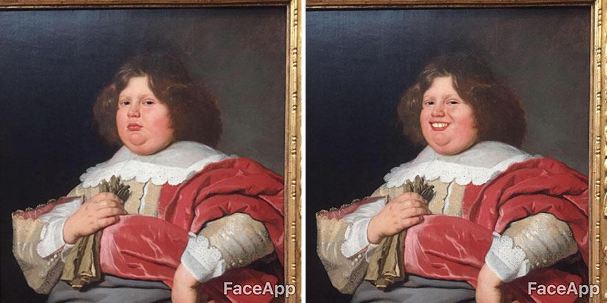(foto) Cum ar arăta picturile și sculpturile din muzee, dacă acestea ar zâmbi