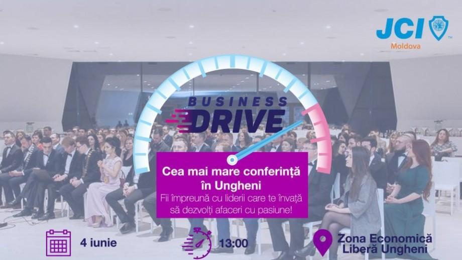 JCI Moldova lansează proiectul național Business Drive la Ungheni