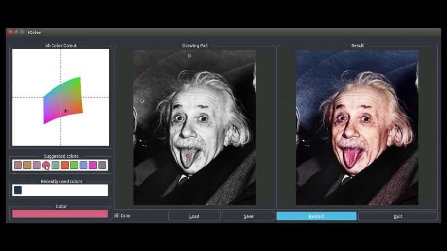 (video) O nouă aplicație îți permite cu ușurință să colorezi fotografiile alb-negru