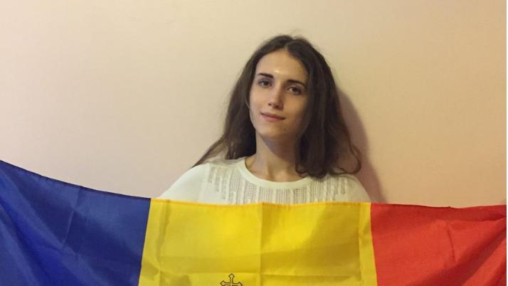 """""""Vreau să mă dedic luptei pentru integrarea Moldovei în UE"""". Cine este tânăra care a câștigat concursul EUaroundU"""