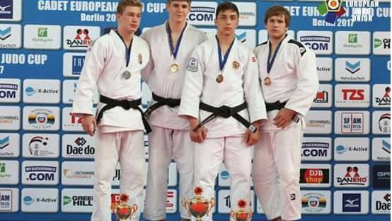 Două medalii de bronz pentru judocanii moldoveni la Cupa europeană de judo, rezervat cadeți