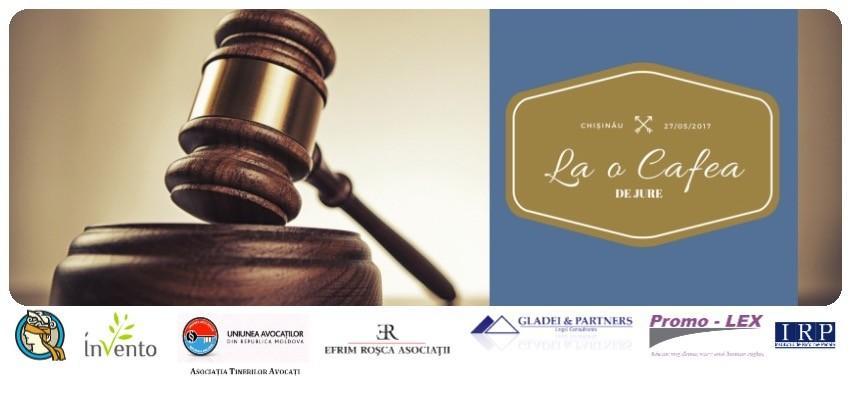 """""""La o cafea de jure"""" – proiectul care vine să ofere tinerilor juriști oportunități de implicare"""