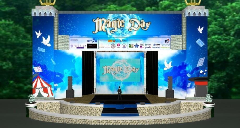 (foto, video) Mămicile, tăticii, copiii și buneii sunt așteptați la Magic Day. Ce spectacol au pregătit organizatorii