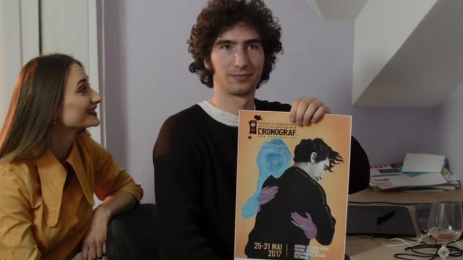"""(video) """"Yes Man""""-ul de la CRONOGRAF. Luc Fedon, francezul care a devenit imaginea festivalului de film"""