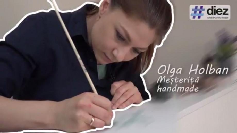 (video) Unde-s tinerii. Olga Holban, despre arta manuală și sute de plăcuțe decorative confecționate