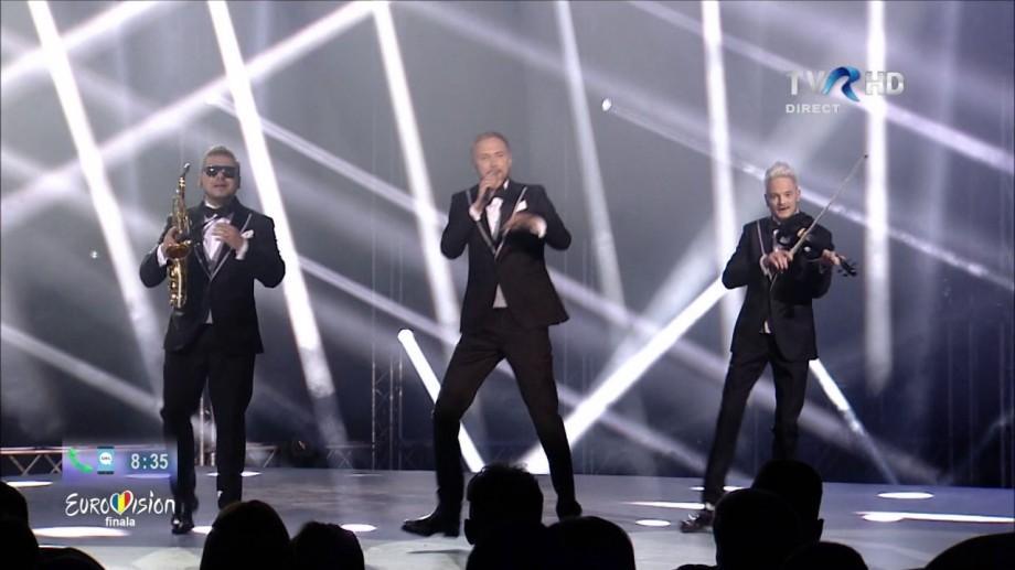 (video) Cum au evoluat membrii trupei Sunstroke Project în finala Eurovision 2017