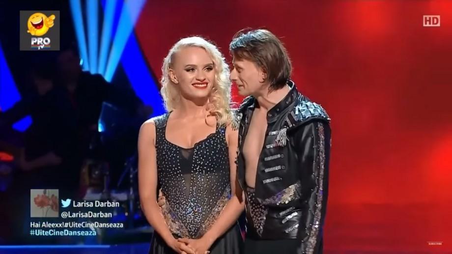 """(video) Olesea Nespeac și partenerul său de dans sunt câștigătorii concursului """"Uite cine dansează"""""""