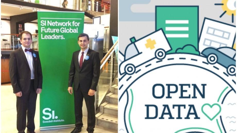 Doi tineri din Moldova care învață în Suedia au nevoie de ajutor pentru teza pe care o scriu despre OpenData MD