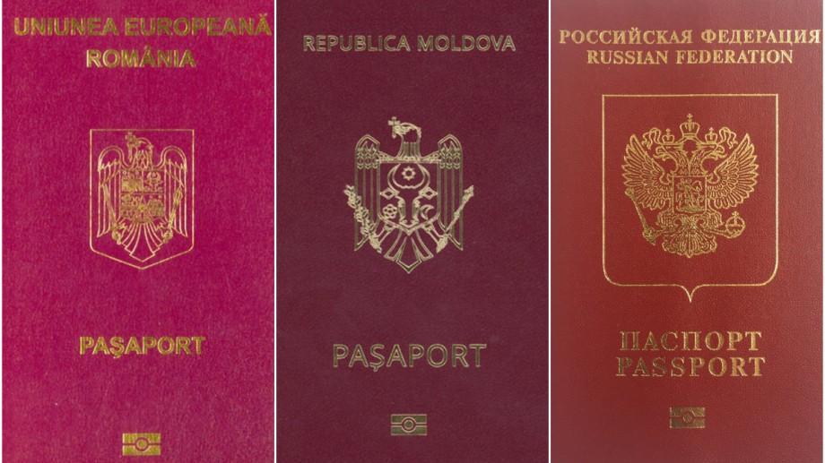 Care pașaport e mai puternic: Românesc sau Rusesc comparativ cu cel Moldovenesc