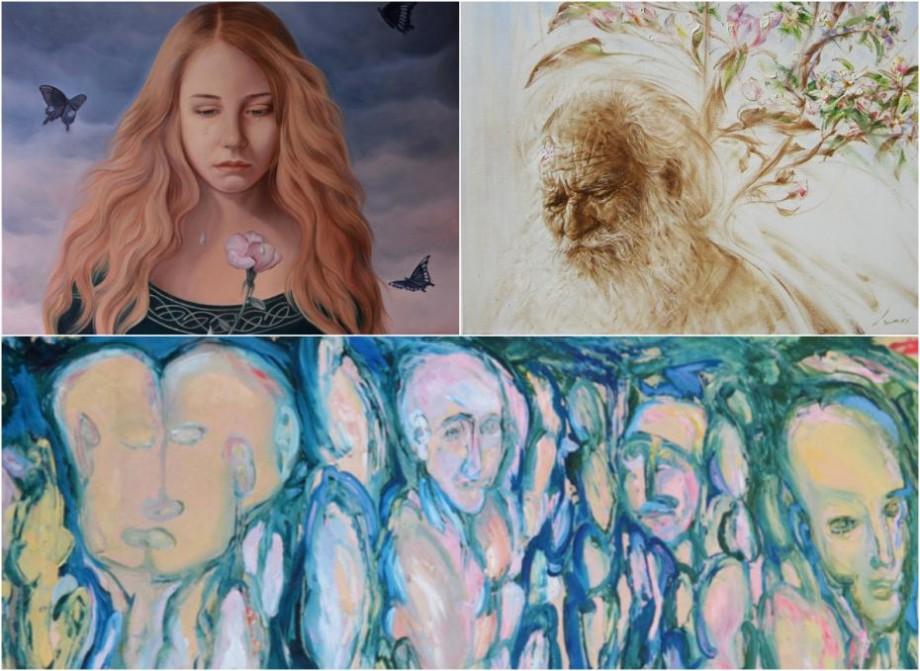 Tineri artiști din Moldova participă la o expoziție în Marea Britanie. Prețurile tablourilor ajung până la 4 000 de lire